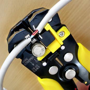 Cleste pentru dezizolare combinat 205 mm S&R