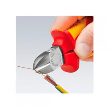 Кусачки боковые диэлектрические 180 мм Knipex