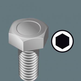 Отвертка-торцевой ключ 3.0x125 мм Kraftform Plus Wera