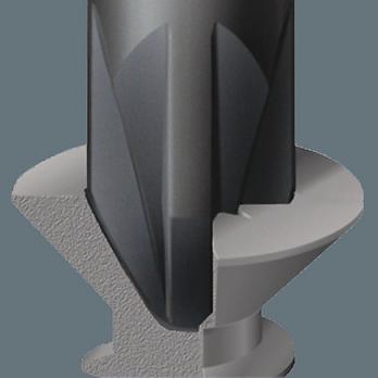 Отвертка PZ1 80 мм Kraftform Micro Wera