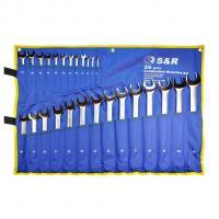 Набор ключей гаечных комбинированных 26шт (6-32мм) S&R
