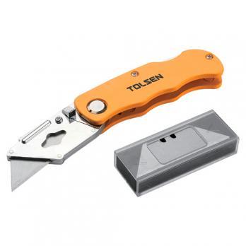 Нож складной трапеция 5 лезвий Tolsen