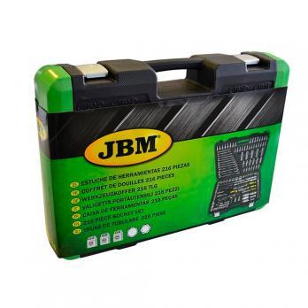 Set capete chei tubulare 216 piese JBM 52840