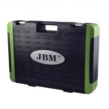 Set capete chei tubulare 94 piese cromate JBM 53011