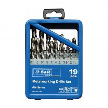 Set burghie pe metal GМ 19 buc. S&R