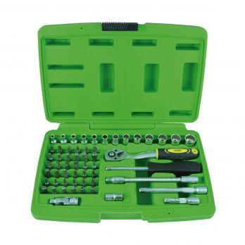 Набор инструмента 6-гранных головок 56 предмета JBM 51892