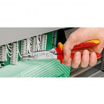 Mногофункциональные клещи для электромонтажных работ 200 мм Knipex