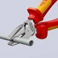 Пассатижи диэлектрические особой мощности 180 мм Knipex_1