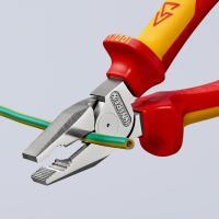 Пассатижи диэлектрические особой мощности 180 мм Knipex_2