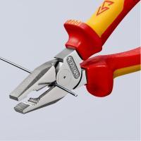 Пассатижи диэлектрические особой мощности 180 мм Knipex_3