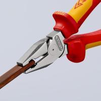 Пассатижи диэлектрические особой мощности 180 мм Knipex_5