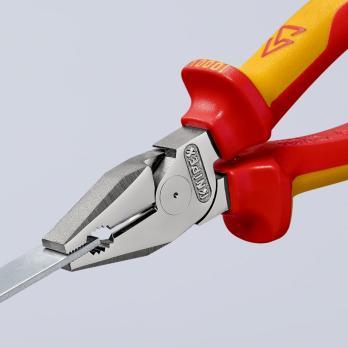 Пассатижи диэлектрические особой мощности 180 мм Knipex