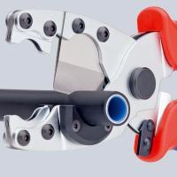 Труборез для комбинированных и защитных труб 210 мм Knipex_3