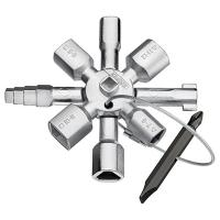 Ключ TwinKey для шкафов и систем запирания Knipex