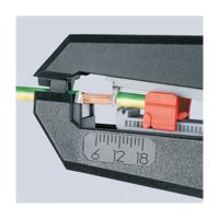 Cleste automat decupat cablu 180 mm Knipex_3