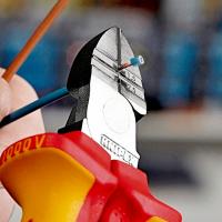 Кусачки боковые для удаления изоляции 160 мм Knipex_1