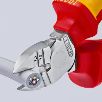 Кусачки боковые для удаления изоляции 160 мм Knipex