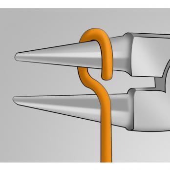Круглогубцы 160 мм 476/1BI Unior