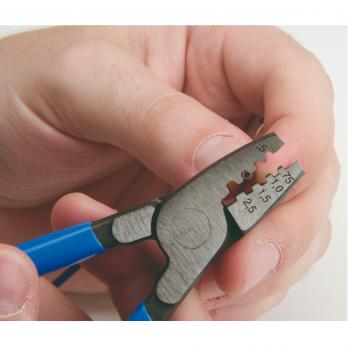 Клещи для обжима контактных гильз 180 мм 424/4P Unior