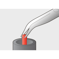 Cleste combinat cu varfuri indoite 200 mm 512/1BI Unior_1