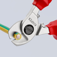 Foarfece pentru taiat cablu dielectric 165 mm Knipex_2