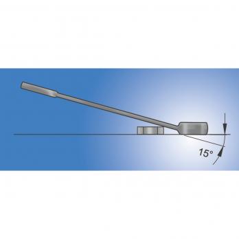 Ключ комбинированный удлинённый 9 мм 120/1 Unior