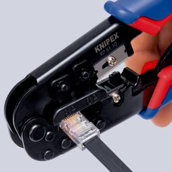 Cleste pentru sertizare conectori RJ Western Knipex