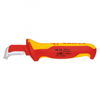 Cutit dezizolator cablu dielectric 180 mm Knipex