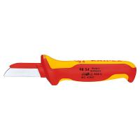 Нож для кабелей диэлектрический 190 мм Knipex