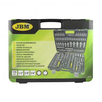 Набор шестигранных головок 179 предметов JBM 53571