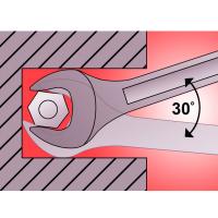 Ключ гаечный рожковый 25x28 мм 7110/2 Kronus_1