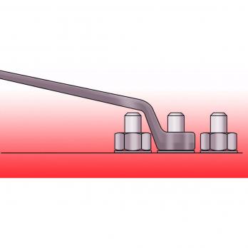 Набор ключей накидных 6-32 мм 12 шт. 7180CT Kronus